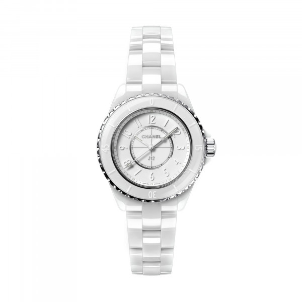 Damenuhr Limited Edition Chanel J12 White H6345