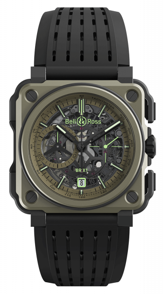 Bell & Ross Experimental BR-X1 Military BRX1-CE-TI-MIL