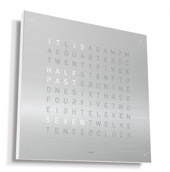 Qlocktwo Frontcover Classic Stainless Steel