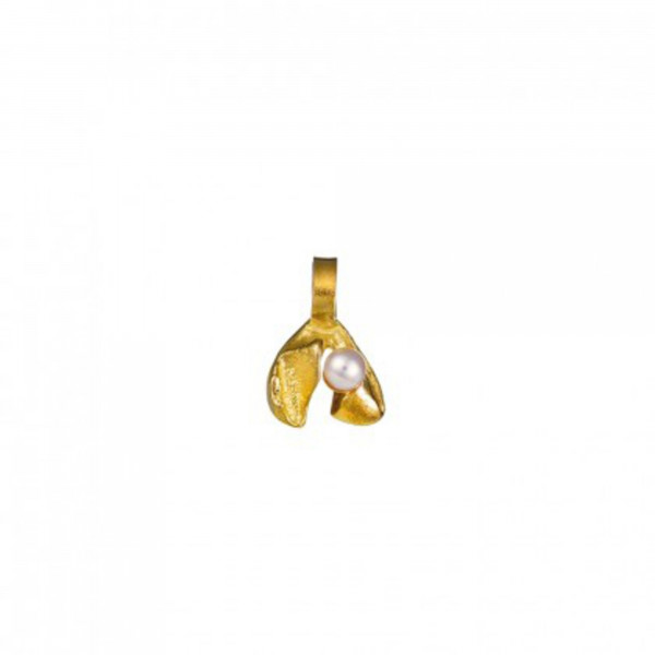 Lapponia Anhänger Tundra Flower Charm Gelbgold Diamant