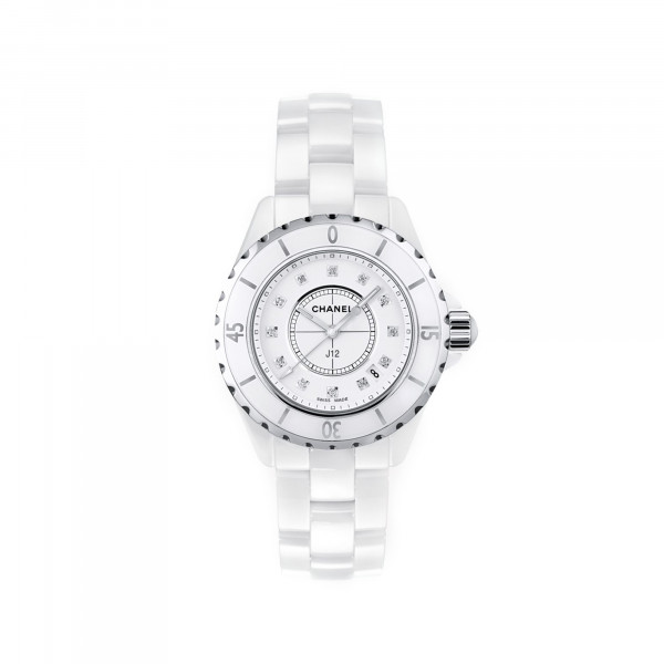Damenuhr Chanel J12 White H1628