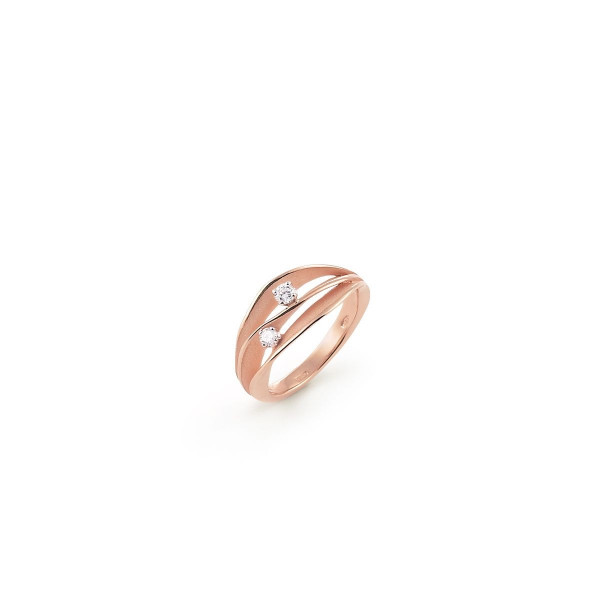 Annamaria Cammilli Ring Dune Pink Champagne Rotgold