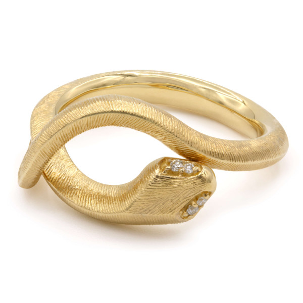 Ole Lynggaard Ring Snakes Gelbgold A2672-401