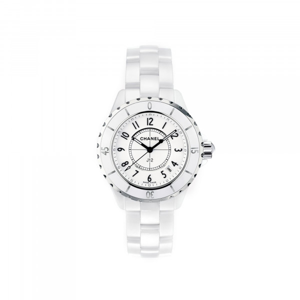 Damenuhr Chanel J12 White H0968