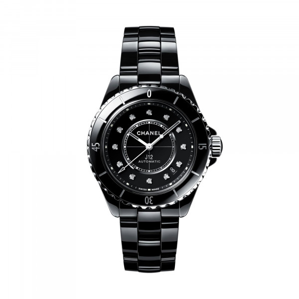 Damenuhr Chanel J12 Black H5702