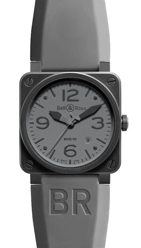 Bell & Ross Herrenuhr BR03 BR0392-COMMANDO