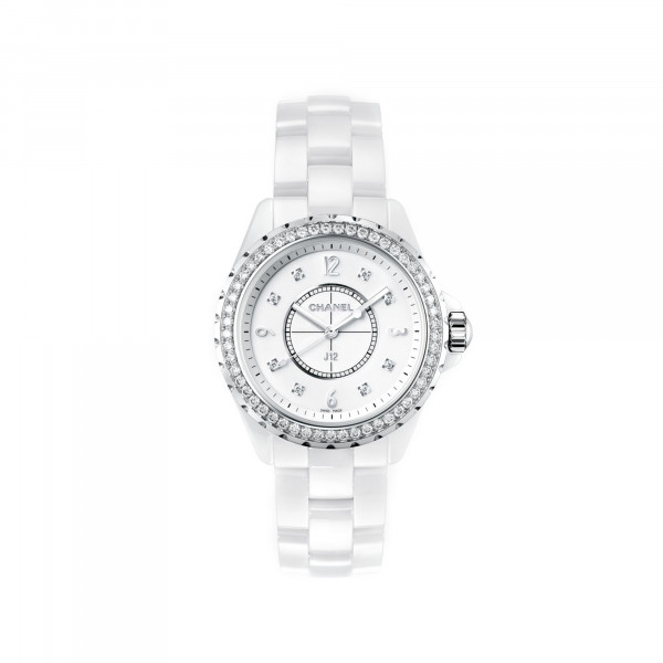 Damenuhr Chanel J12 White H3110