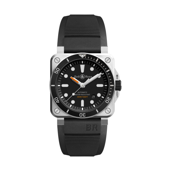 Bell & Ross Aviation Herrenuhr BR03 BR0392-D-BL-ST/SRB