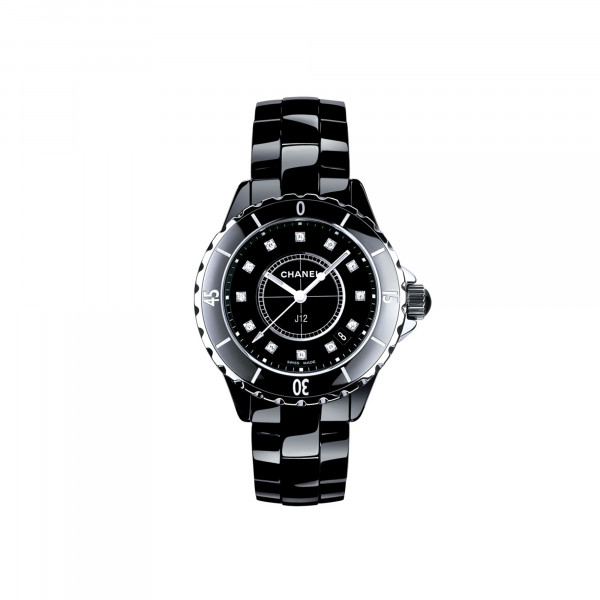 Damenuhr Chanel J12 Black H1625