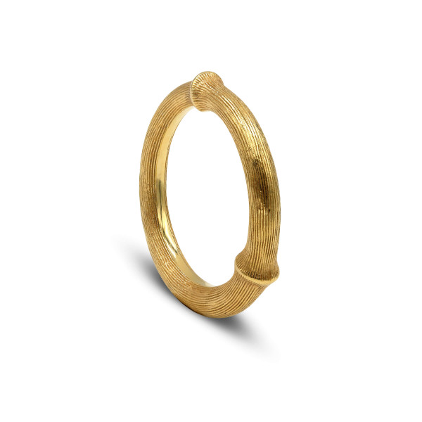 Ole Lynggaard Ring Natur #4 Gelbgold A2683-401