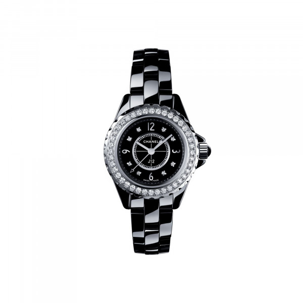 Damenuhr Chanel J12 Black H2571