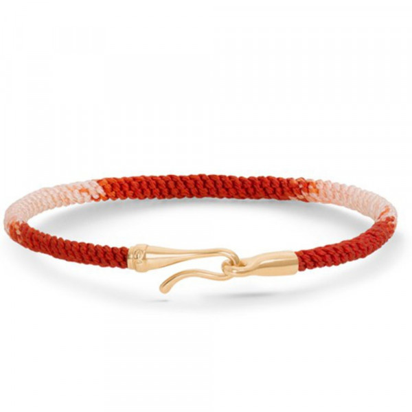 Ole Lynggaard Armband Life 'Red Emotions' Gelbgold A3040-402