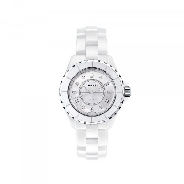 Damenuhr Chanel J12 White H2422